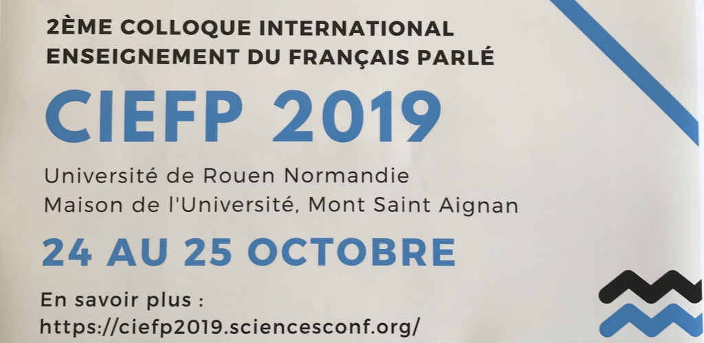 2ème Colloque International Enseignement du Français Parlé
